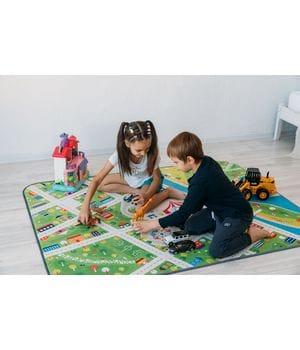 Детский игровой коврик Маленький город