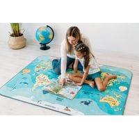 """Детский игровой коврик """"Карта мира"""""""