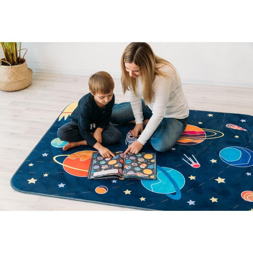 Детский игровой коврик Открытый космос