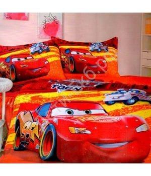 Комплект постельного белья Молния Маквин red