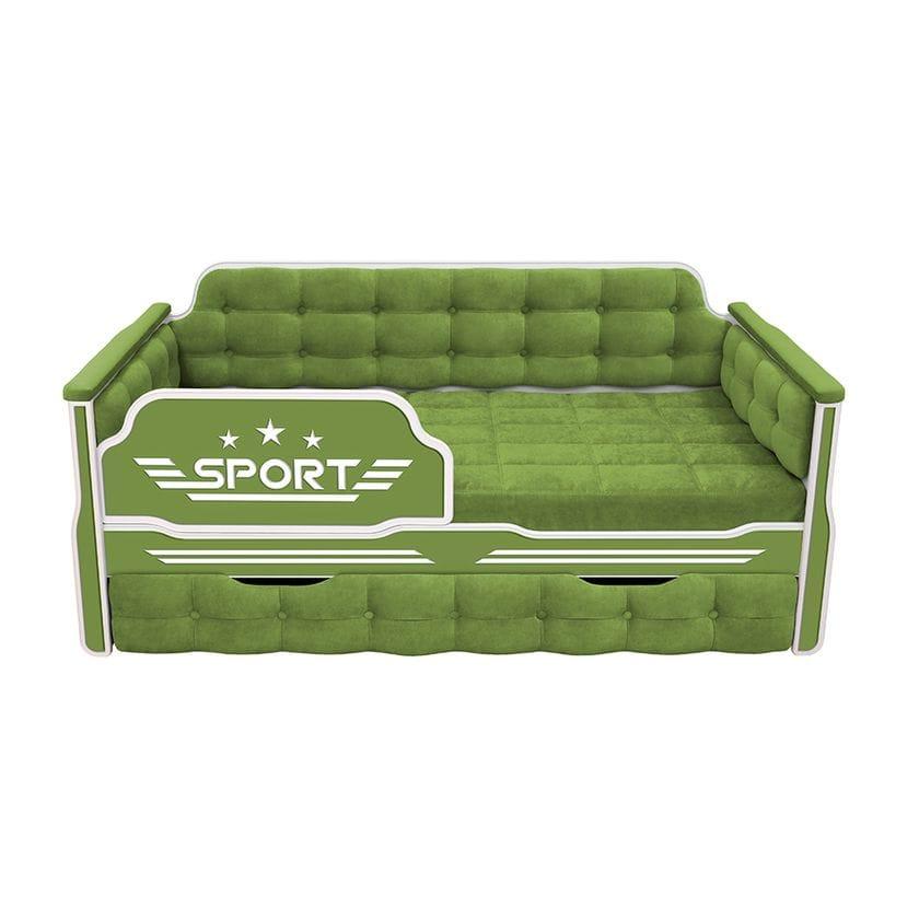 Кровать-диван Спорт с дополнительным спальным местом