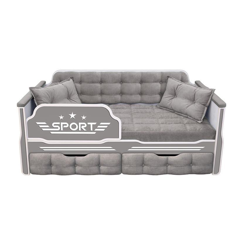 Кровать-диван Спорт с двумя ящиками