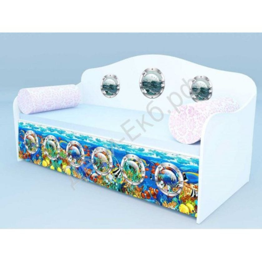 Диван - кровать Морские рыбки