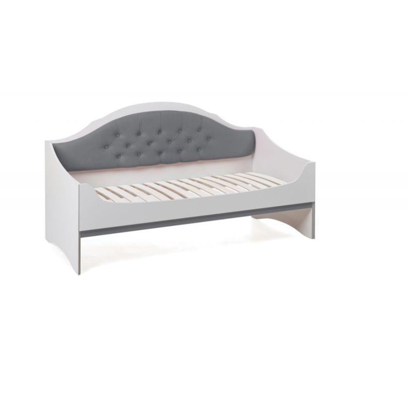 Диван-кровать с каретной стяжкой Valencia 61 Белый