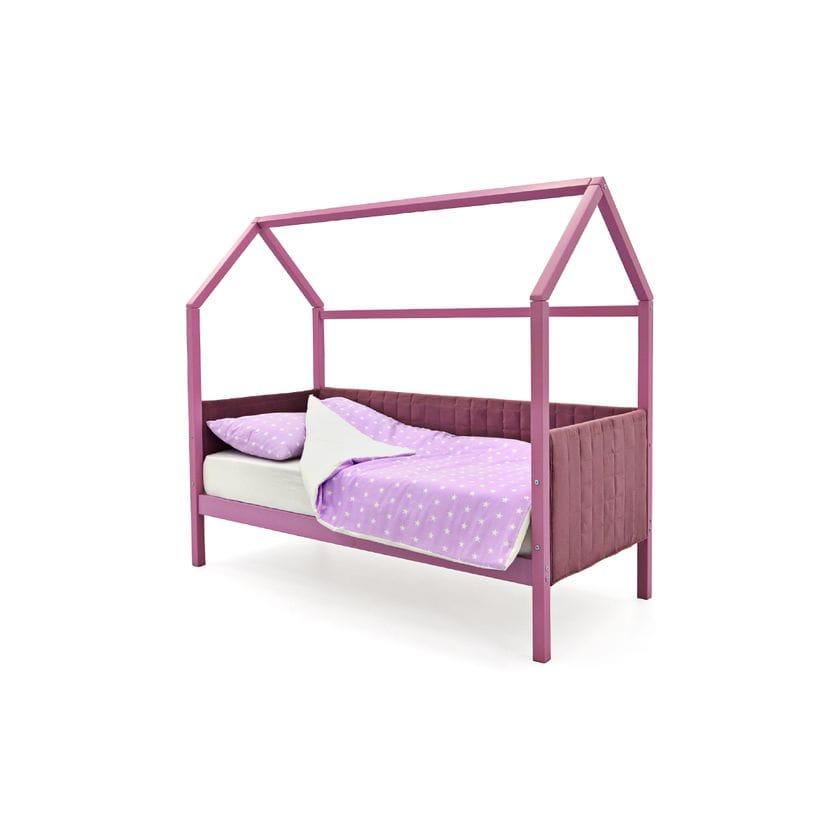 Кровать домик мягкий