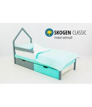 Детская кровать домик Мини Svogen