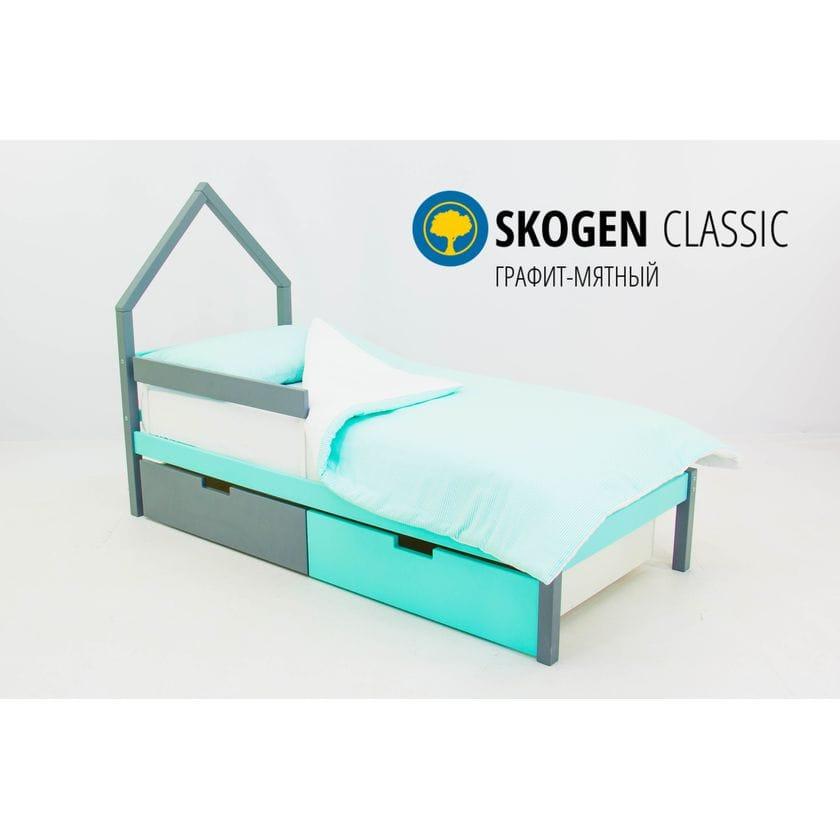 Детская кровать домик Мини Бельмарко Svogen