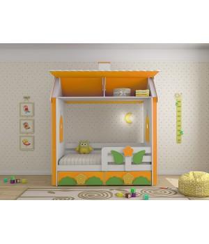 Кровать домик Ромашки Люкс