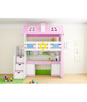 Кровать коттедж кабинет