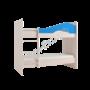 Двухъярусная кровать Мая Синий