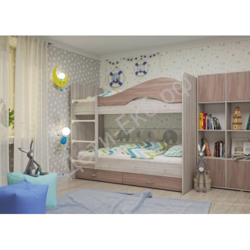 Двухъярусная кровать Мая Ясень Шимо