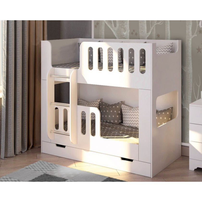 Двухъярусная кровать Сказка без ящика