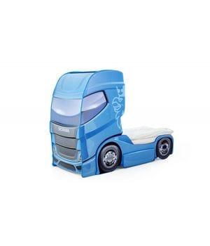 Кровать-грузовик Скания+1 синий