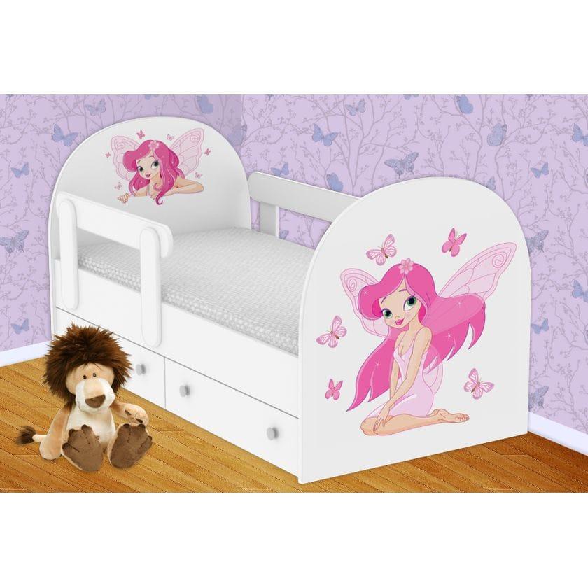 Детская кровать Фея  с ящиками