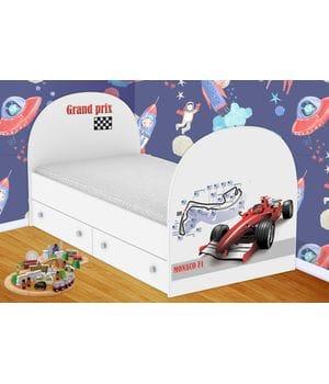 Детская кровать Формула - 1  с ящиками