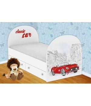 Детская кровать Ретро с ящиками