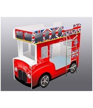 Кровать-автобус Лондон