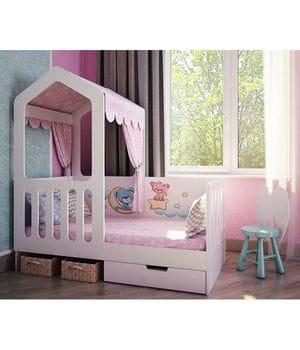 Боковая кровать домик Сказка