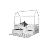 Кровать домик 2 с ящиками