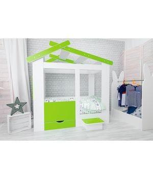 Кровать домик Теремок