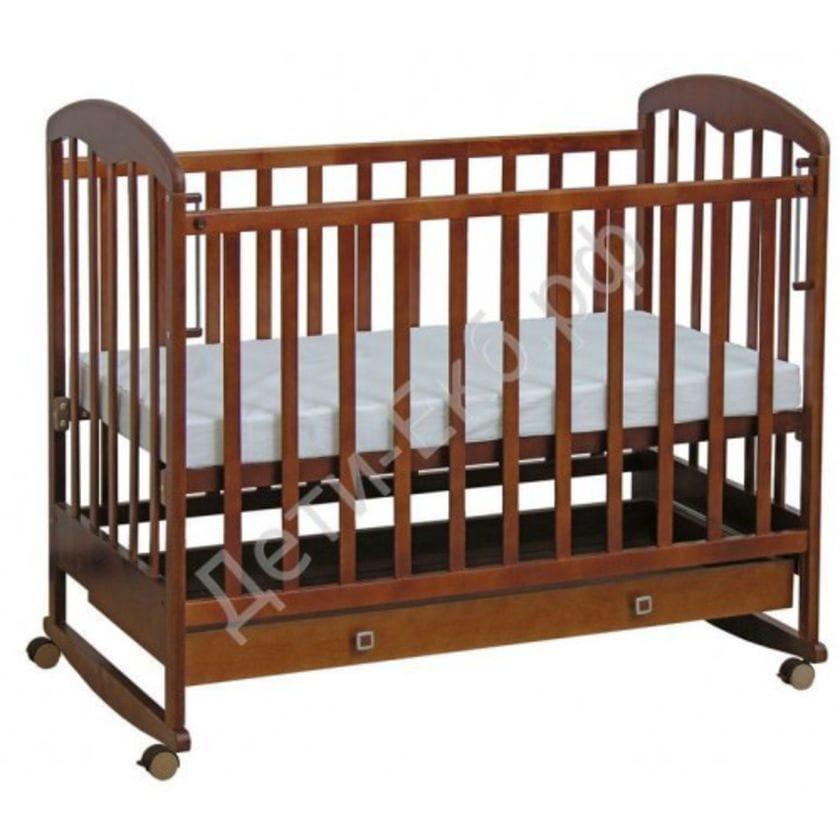 Кровать детская ФЕЯ 325 Орех