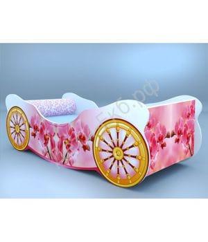 Кроватка-карета Орхидея