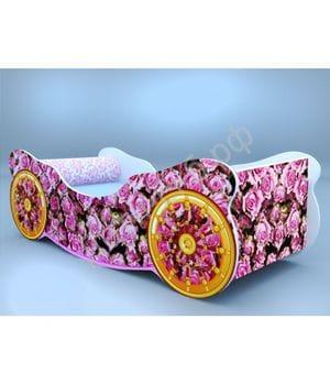 Кроватка-карета Розы