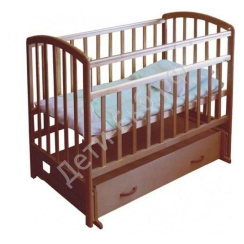 Кровать детская ФЕЯ 311 (маятик поперечный, ящик, автостенка)
