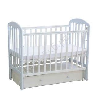 Кровать детская ФЕЯ 328 Белый-лазурь