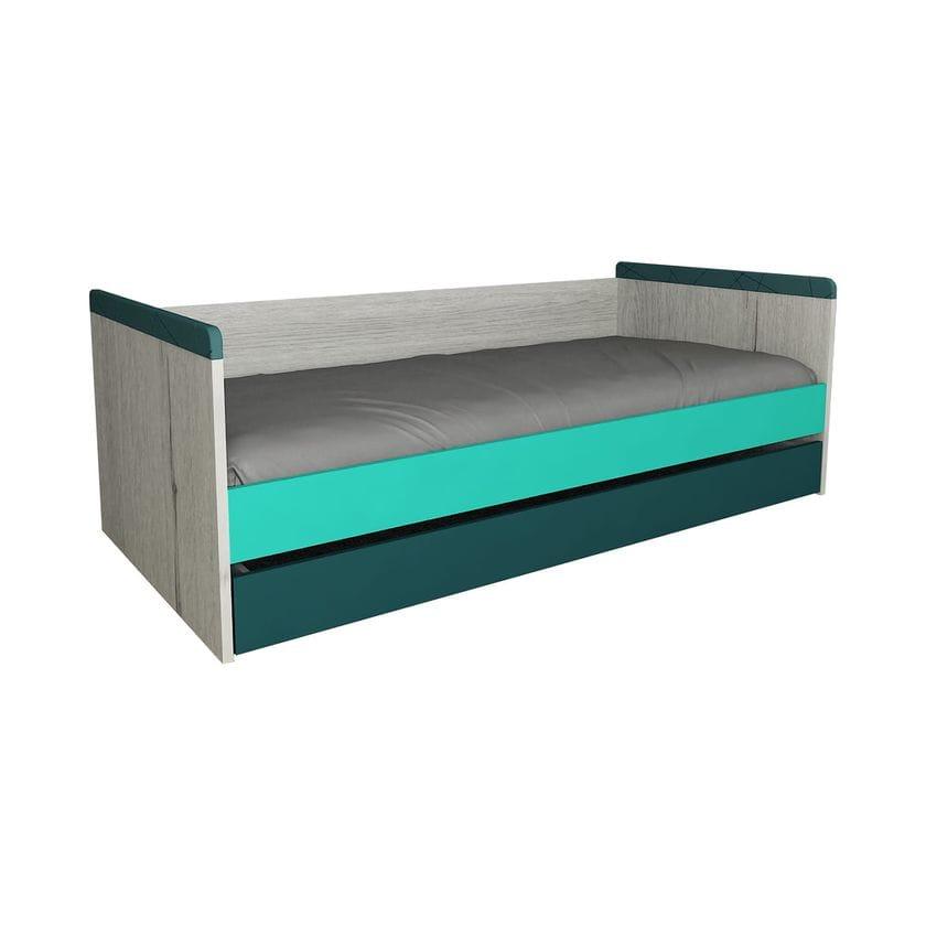 """Кровать """"НьюТон"""" малая с дополнительным спальным местом"""