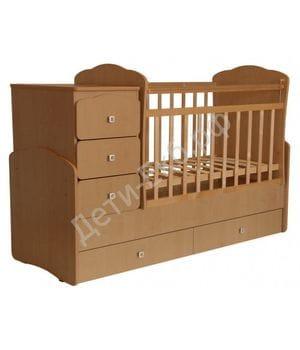 Кровать-трансформер детская ФЕЯ 2100 Бук