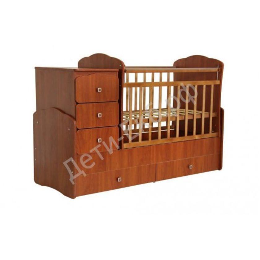 Кровать-трансформер детская ФЕЯ 2100 Орех