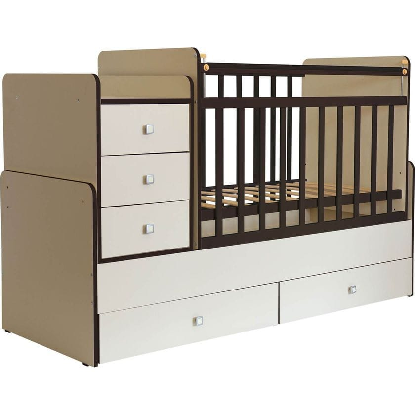 Кровать-трансформер детская ФЕЯ 1100
