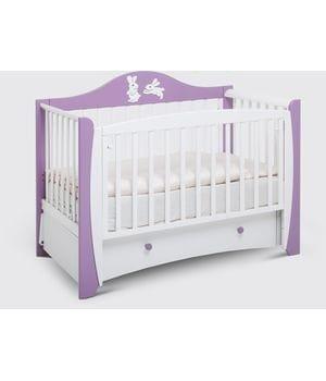 Кроватка-маятник для новорожденных Olivia