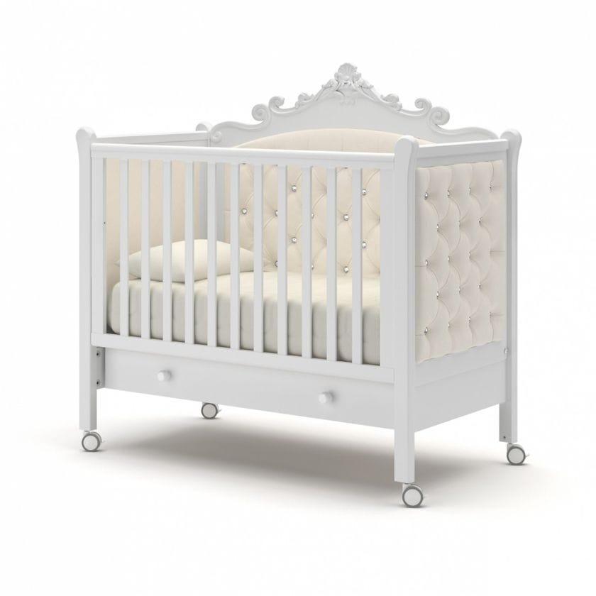 Кровать для новорожденных Лиона с ящиком