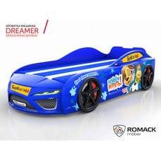 Кровать-машина Dreamer Барбоскины Дружок blue