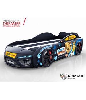 Кровать-машина Dreamer Барбоскины Дружок black