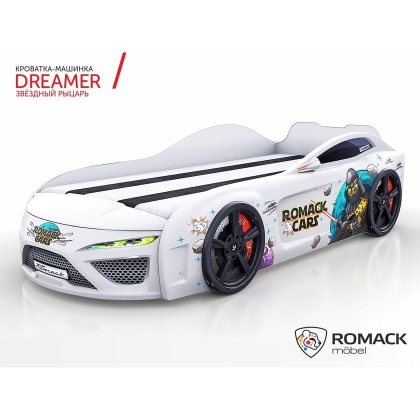 Кровать-машина Dreamer Звездный рыцарь black