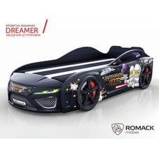 Кровать-машина Dreamer Звездные воины  black