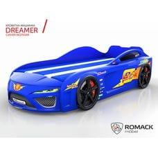 Кровать-машина Dreamer Молния Blue