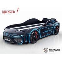 Кровать-машина Dreamer Neon black