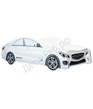 Кровать машинка Mercedes-Benz белый