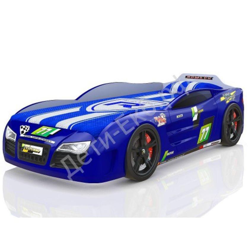 Кровать-машина Renner 2 синяя