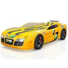Кровать-машина Renner 2 желтая