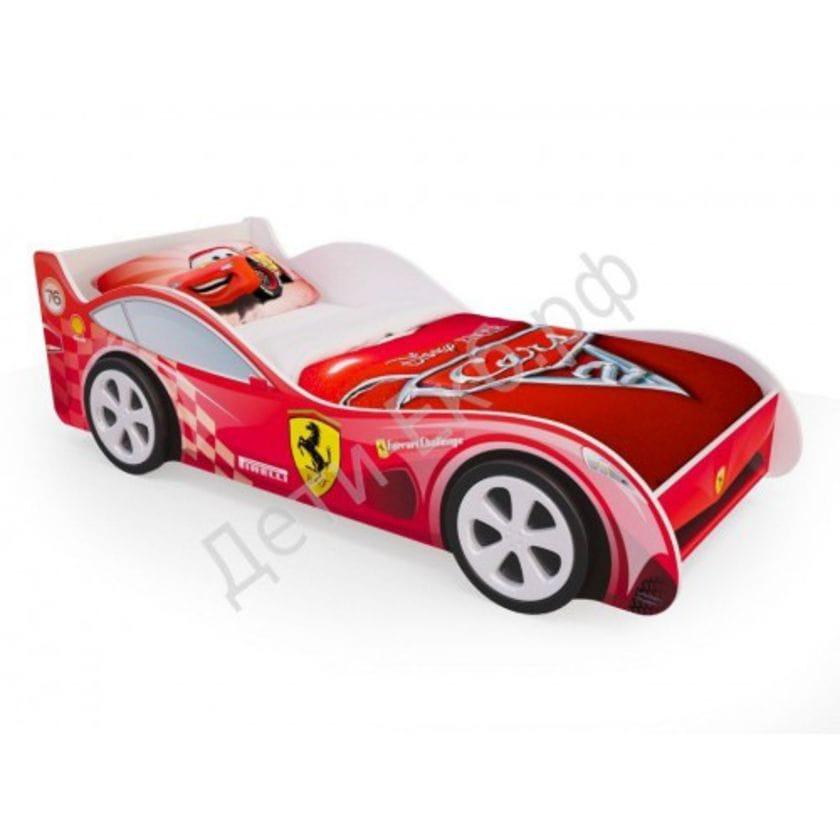 Кровать машинка Феррари «Красная»