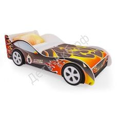 Кровать машинка «Пламя»