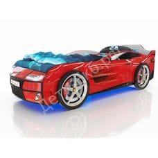Кровать-машинка Romack Kiddy красный