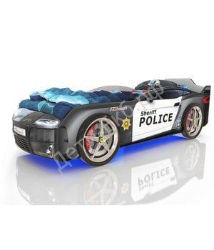 Кровать-машинка Romack Kiddy Полиция
