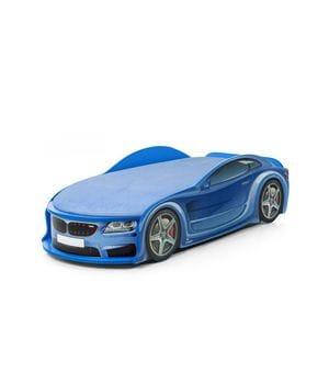 Кровать в виде машины БМВ-М синяя