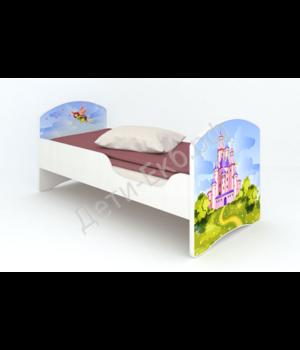 """Кроватка """"Феи"""" без ящиков"""